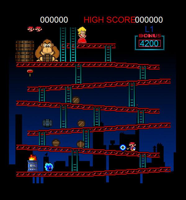 Donkey Kong Retro Remake | Retro-Replay com